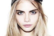 Model of the moment.... / We are crushin' on Cara Delevigne!