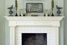 Fireplace / by Mrs. Crumpet