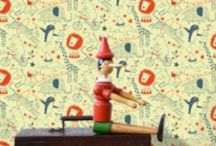 Kids wallpaper and art / by Pieces of Me NL