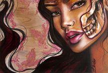 Artist: MJ Lindo / by Cari Marie