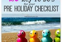 Easy holiday planning & prep tips / Ideas and tips to help you make going on holiday a breeze! How to plan what to wear, what to pack, tricks to help with going away and much more! Get your holiday inspiration here...