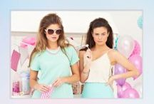 MJF Pastel Campaign S/S14 / All items available @ www.maryjanefashion.com