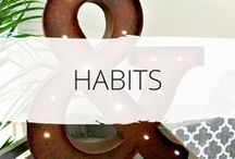 * Good Habits * / Create good habits with these easy to follow tips and ideas. Habits are the backbone of a more simple life - try some new habits today and see the changes you can make. Habit making | good habits | organising habits | life habits | life changing | making change