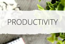 * Productivity Tips * / Amazing Productivity tips, advice & inspiration to get things done. Make the most of your day and be more effective. Learn quick and easy tips that work! Get things done | Productivity | Productive | Make most of your time | Use time wisely | be more productive | get the most from life