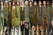 Fashion Marshall AW14 / This Autumn/Winter designers are in military mode with an army green colour pallet >> http://www.maryjanefashion.com/trends/fashion-marshall.html