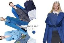 Feeling Blue AW14 / This Autumn/winter will see hues of navy, cobalt and baby blue sprinkled all over our wardrobes.