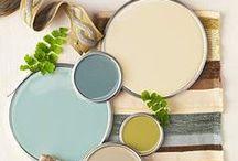 colour schemes / colour schemes / by Juul , paint, stitch, cut, nail & bake