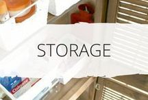 * Clever Home Storage Ideas * / Inspiration, ideas and tips for storing anything and everything around the house! Home storage ideas, storage for the home, make space work for you - make the most of the space you have. Fitted storage | kitchen storage | living room storage | bedroom storage | storage items | storage furniture etc...