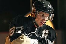 Sidney Crosby / Sidney Crosby, #87 of the Pittsburgh Penguins