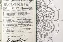 Easy Bullet Journal Tips / Tips, advice and inspiration on all things related to Bullet Journals. How to start a bullet journal, what is a bullet journal - and loads of ideas for how to fill your bullet journal.