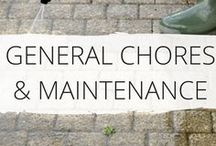 * Home Maintenance * / Home Maintenance Checklists, Tips & Schedules to help keep your house looking great all year round. Home Improvement ideas and all the Home Maintenance tasks in one place. Chores, maintenance, DIY and more...