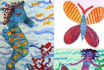 Teaching- Art / Art links, sensory exploration, lesson plans, ideas, inspiration and tips for teaching from the Early Years and up.