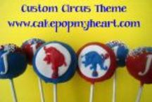 Circus Theme / by Cake Pop My Heart