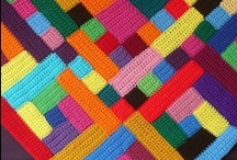 Patchwork Crochet / crochet and knitted patchwork color blankets, afghans, etc / by sharmaine debba