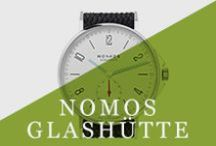 NOMOS Glashütte / Made in Glashütte, Germany, the mecca of watchmaking art, NOMOS Glashütte timepieces are known for beauty, craftsmanship, and good materials.