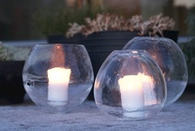 Ice lanterns / I love to make ice lanterns!