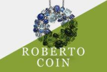 Roberto Coin / Roberto Coin is among the best known, most luxurious jewelry brands in the United States. And why not? When every Roberto Coin piece has a hidden ruby inside to provide the beholder with her very own piece of good fortune.