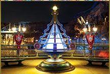 Tokyo Disneyland Resort / A trip through Tokyo Disneyland and Tokyo Disney Seas - the world's most expensive and elaborate Disney park to date! / by Rob Yeo