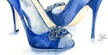 - shoes - / Illustrated shoes and shoes we just need