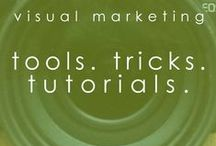 visual tools. tutorials. tricks. / using photoshop + other free online tools to DIY your own branded visual content