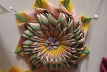 pleated ribbon trims