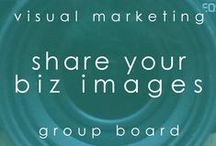 share your biz images / this group board is for biz owners creating visual content to promote their biz. PURPOSE: share your images... share your biz! DO: pin the images you've created for your biz, your brand, your products & services, your promotions & events. DON'T: be spammy! TO JOIN: please send me a message on facebook or twitter @karengunton with your pinterest URL. and PLEASE DO invite other biz owners & image creators to this board!