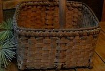 HAND WOVEN BASKETS / by Joann Drescher