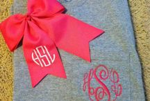 Monogram this & that / by Mrs. Champagne 💍