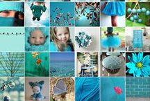 aqua/turquoise / by Rachel Pryer