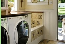 HOUSE:  Laundry / Mudrooms / Offices, etc. / by Brooke Todd