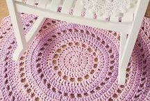 Crochet - About the House / Household crochet - Doileys, hotpads, household accessories  / by Monika Farmer