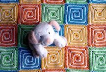 Crochet for Babies and Kids - Blankets and Such / Baby blankets, cocoons, throws, etc / by Monika Farmer