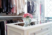 Closet ideas  / by Mrs. Champagne