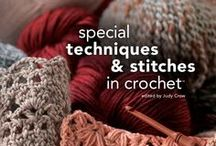 Crochet Stitches, Tips & Tutorials / Links to blogs and instructional information on crocheting / by Monika Farmer