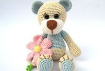 Crochet - Toys and Stuffed Animals / patterns and links to toy and animal crochet patterns and ideas / by Monika Farmer