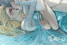 Jack and Elsa.
