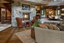 Dream Home - Great Room/Living Room / by Angela Pritchard