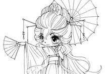 Coloring Pages / Lineart to color / by Angela Pritchard