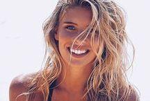 Beach Hair / Beach Hair | Designer beachwear, coverups, summer dresses & casual fashion for women • stylish outfits equally at home on the beach & at lunch | Shop @ NudzBeachwear.com
