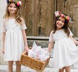 Jolies Demoiselles // Flowergirl / Retrouvez toutes nos inspirations pour vos demoiselles d'honneur. // Find here all of our lovely flowergirl outfit for your wedding.
