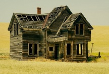 1-ABANDONED, OLD AGE, RUN DOWN BARNS & HOUSES, RUINS, ECT. / TIME STANDS STILL FOR NO ONE AND OLD AGE MARCHES ON.