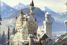 The Manor Born ~ Castles and Mansions / A collection of the worlds most spectacular and famous castles and mansions  / by Joyce Marsh