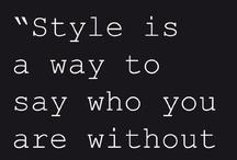 So my style = Niin mun kamppeita