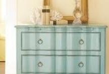 Painted furniture-DIY / by Denise Thomason