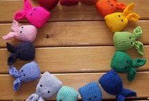 Knitting animals, flowers, tiny nice stuff and...
