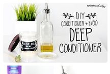 NaturallyCurly | #CurlyMixology / We're celebrating the DIY mixtress in all of us! Hair treatments made from common ingredients found in your kitchen! #CurlyMixology / by NaturallyCurly.com