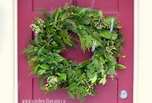 Wreaths and Fresh Arrangements / by Denise Thomason