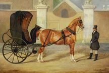 HORSE DRAWN ECT.... / Horse & Buggys, Carriages, Hansome Cabs, Coaches, Wagons, Stage Coaches, Fire Engines, Farm Machinery ECT...