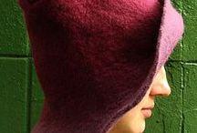 Wet felt - hats