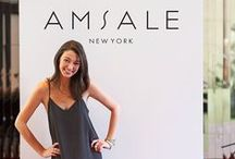 A M S A L E  G I R L / While managing PR at Amsale I also doubled as in-house fit model... #thosewerethedays / by Heather Hall